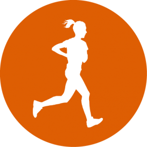 Triathlon Run Icon