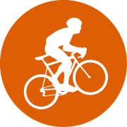 Triathlon Cycle Icon