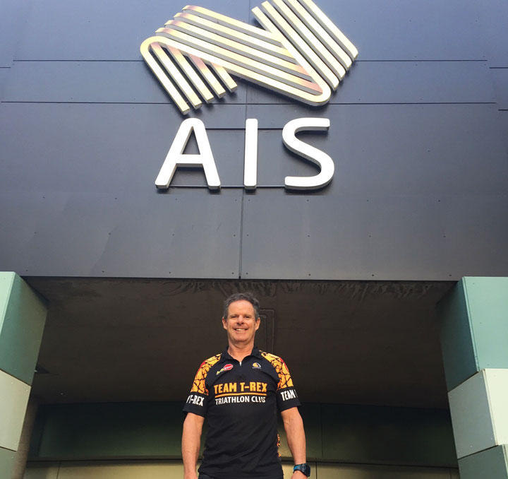David Cunningham at the AIS