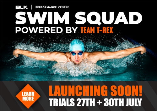 BLK Performance Swim Squad Powered by Team T-Rex Launching Soon